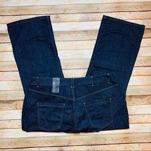 NEW LANE BRYANT Women's Bootcut Jeans Size: 22P